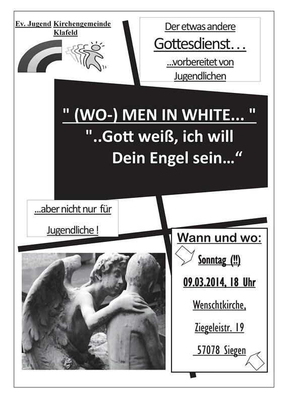 Jugendgottesdienst 9.3.2014 Engel